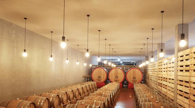 Illuminazione locali invecchiamento vino cantina - Elettrotecnica Zanatta