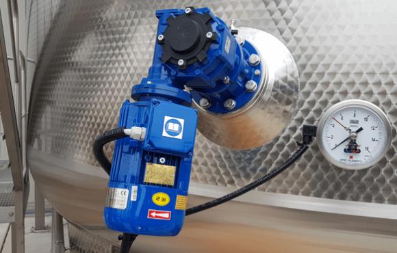 Impianto automazione sistemi di controllo temperature cisterne vinificazione